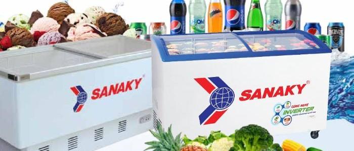 Top 8 mẫu tủ đông ngang được sử dụng rộng rãi hiện nay