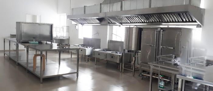 Dự án bếp nấu tại trường mầm non Olympia Hà Đông