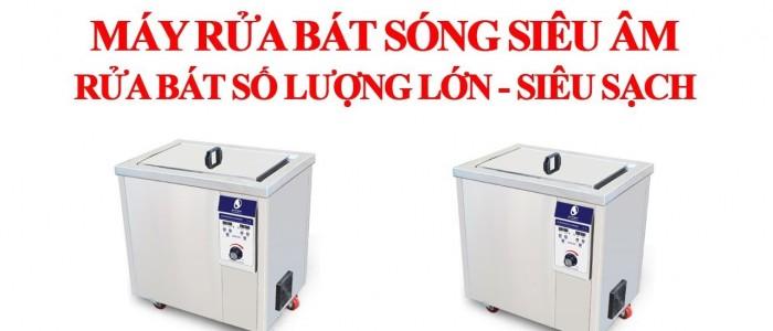 Cấu tạo và nguyên lý hoạt động của máy rửa bát siêu âm