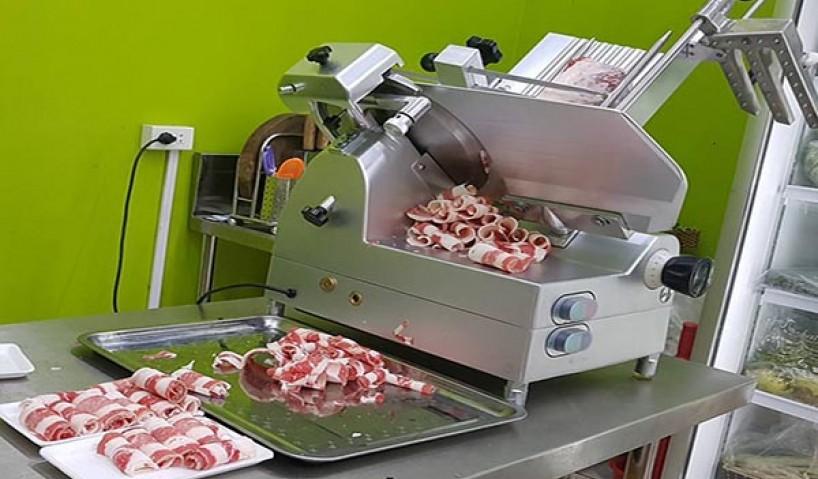 Điểm danh những dòng máy thái thịt phổ biến cho nhà hàng