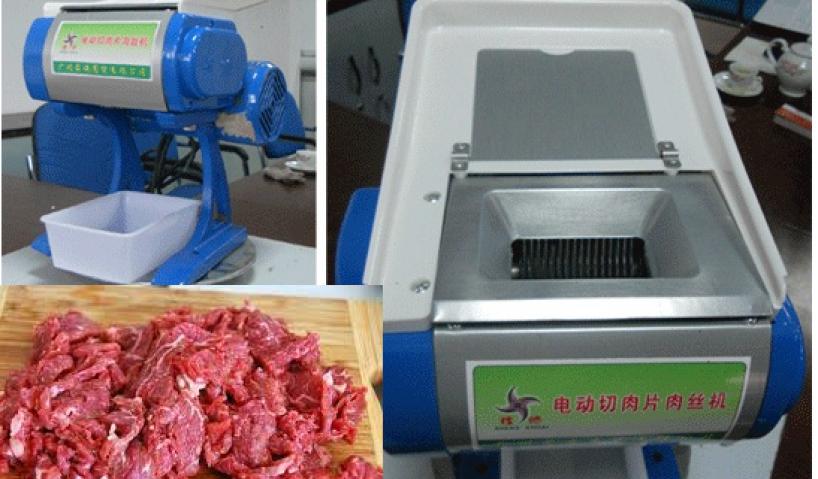 Thông tin bạn cần biết trước khi mua máy cắt thịt heo công nghiệp