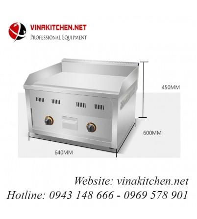 Bếp rán phẳng dùng gas VNK-FY-610R