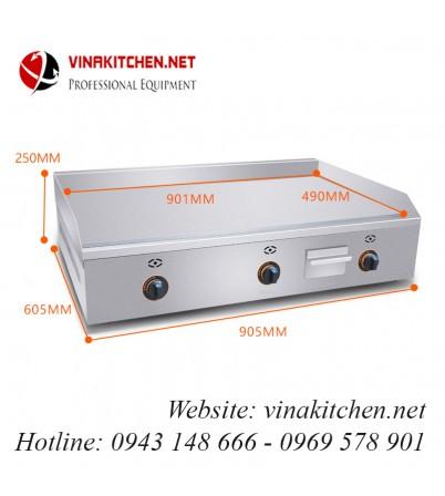 Bếp rán phẳng dùng gas VNK-FY-900R