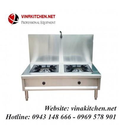 Bếp hầm đôi inox có vòi rửa 1200x700x450/1150 mm