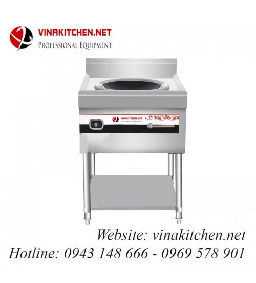 Bếp từ công nghiệp lõm có giá kệ có hẹn giờ 12KW HZD-12KW-ASCLX
