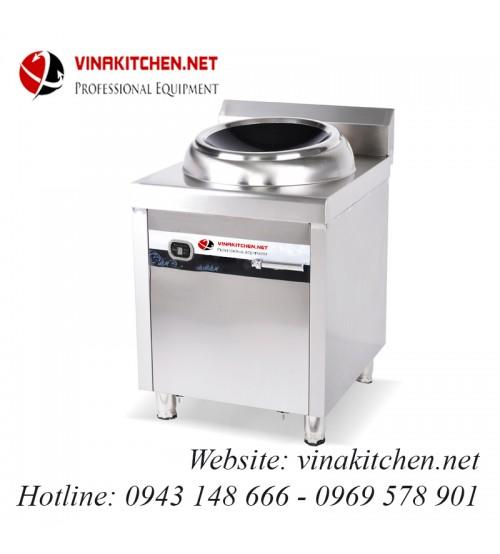 Bếp từ công nghiệp lớn mặt lõm có hẹn giờ 15KW HZD-15KW-ZKLD