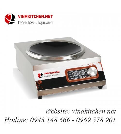 Bếp từ công nghiệp lõm có hẹn giờ điều khiển núm xoay 3.5kw HZD-3.5KW-AXSS