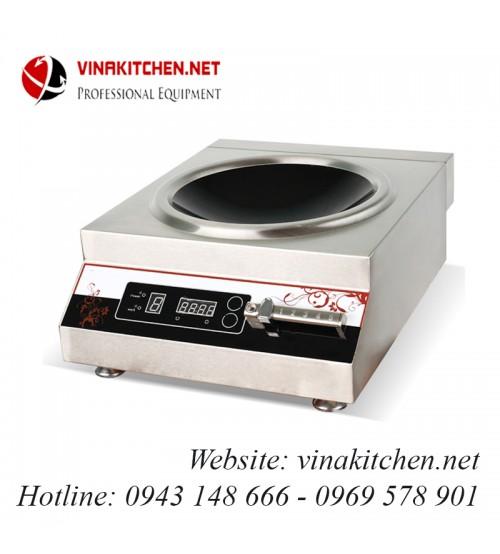 Bếp từ công nghiệp mặt lõm có hẹn giờ 5KW VNK-5KW-ACS
