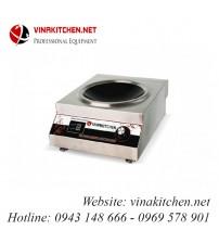 Bếp từ công nghiệp mặt lõm 5kW VNK-5KW-AX