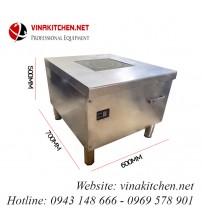Bếp từ công nghiệp Vinakitchen phẳng 5KW cỡ lớn VNK-5KW-PXS