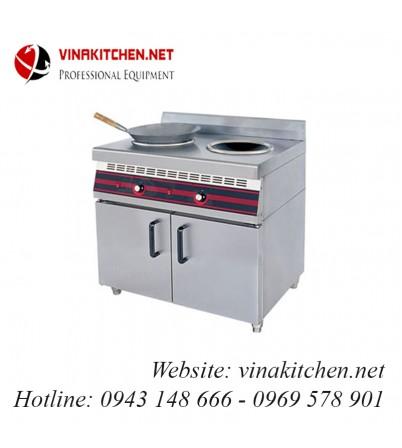 Bếp từ công nghiệp đôi có tủ WAILAAN 8KW WDC-3800/2A