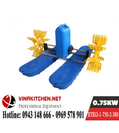 Máy Bơm Tạo Khí Oxy Nuôi Thủy Sản BTKO-1-750-2-380