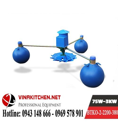 Máy Bơm Tạo Khí Oxy Nuôi Thủy Sản BTKO-2-2200-380
