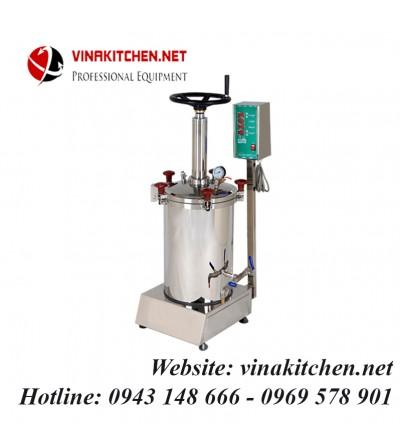 Máy sắc thuốc bắc bán tự động YJ40 (40 lít/lần đun)