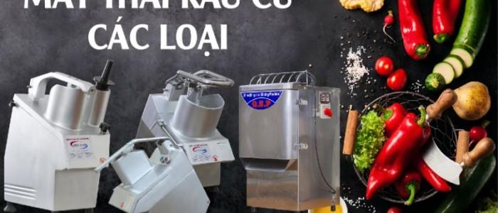Bật mí mẹo mua máy cắt lát củ quả chất lượng