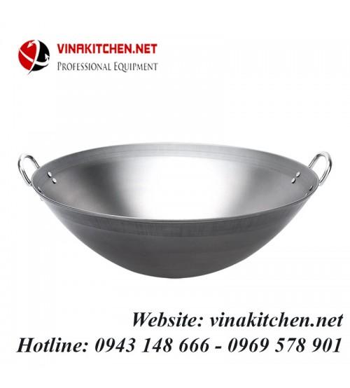 Chảo thép dùng cho bếp từ công nghiệp đường kính 46CM