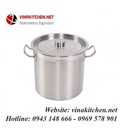 Nồi inox dùng cho bếp từ công nghiệp 12 Lít