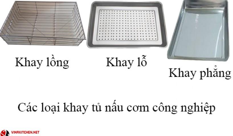 Khay tủ hấp cơm công nghiệp có mấy loại và dùng vào mục đích gì?
