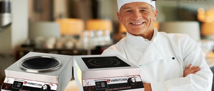 Bếp từ công nghiệp mặt phẳng: Trợ thủ đắc lực cho người đầu bếp