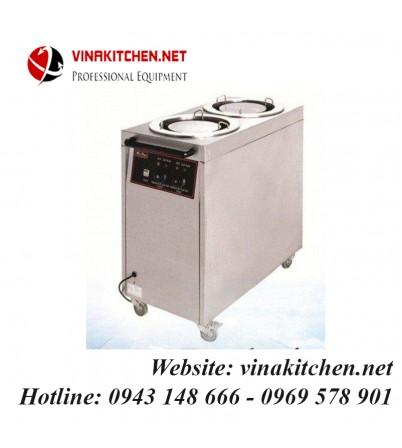 Tủ xe hâm nóng thức thức ăn 2 ngăn DF-2