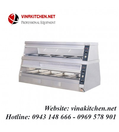Tủ giữ nóng thức ăn đa năng - tủ hâm nóng thức ăn đa năng DH-6P
