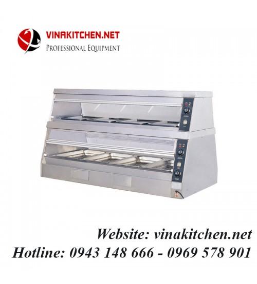Tủ giữ nóng thức ăn đa năng - tủ hâm nóng thức ăn đa năng DH-6PB