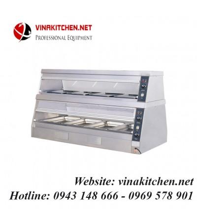 Tủ giữ nóng thức ăn đa năng - Tủ hâm nóng thức ăn đa năng DH-8P