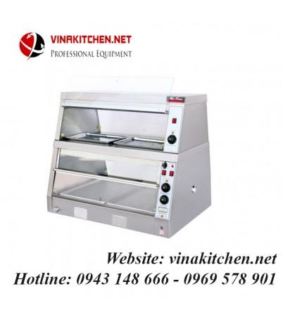 Tủ giữ nóng thức ăn đa năng - tủ hâm nóng thức ăn đa năng 4 khay WDH-2PA