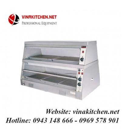 Tủ giữ nóng thức ăn đa năng - tủ hâm nóng thức ăn đa năng 5 khay WDH-3PA