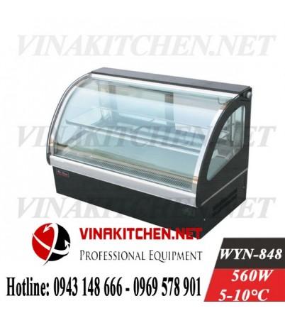 Tủ trưng bày bánh kem - tủ trưng bay bánh gato WYN-848