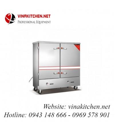 Tủ nấu cơm gas và điện 24 khay TCGD-24